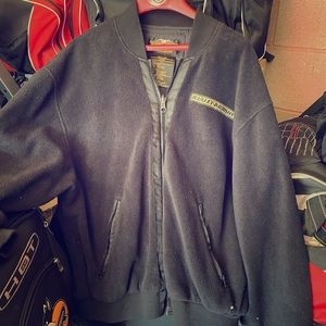 Harley fleece jacket